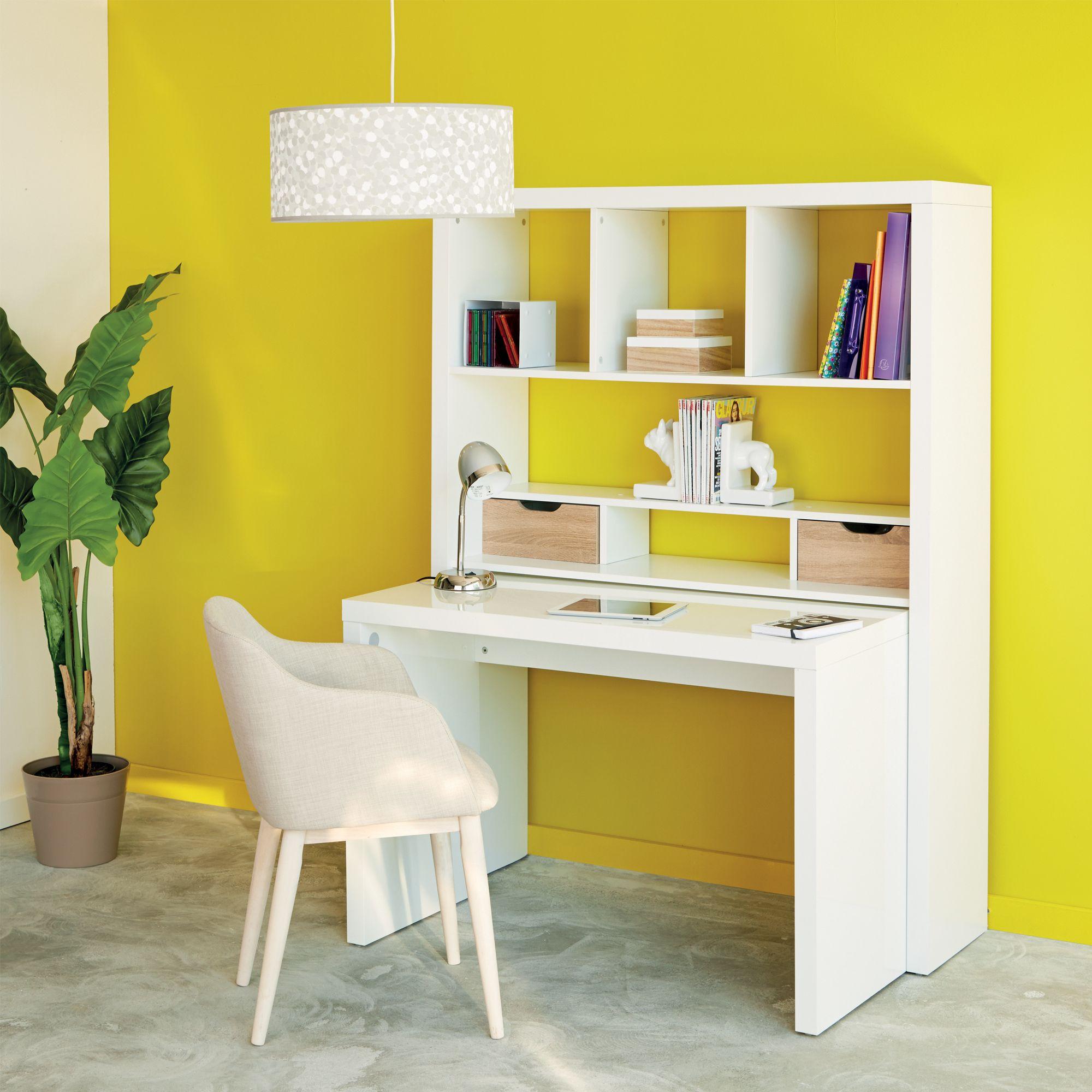 Un bureau chic et pratique