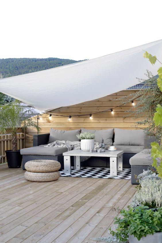 Comment aménager sa terrasse selon sa taille ?