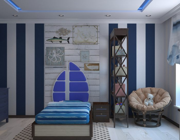 Comment décorer la chambre d'un petit garçon ?